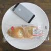 ミニストップのコンビニパン「2種のベリーとチーズクリームのフランスパン」