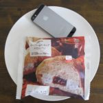 ローソンのコンビニパン「メープル&ホイップメロンパン」