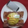 セブンイレブンのコンビニパン「レモンクリームのメロンパン」