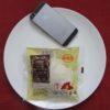 ローソンのコンビニパン「もちっと白いパンケーキ(とみつ金時芋入り餡&マーガリン)」