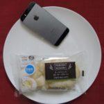 ファミリーマートのコンビニパン「もっちりとした白いチーズのパン」