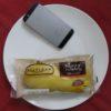 ファミリーマートのコンビニパン「コッペパン チョコ&バナナ」