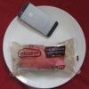 ファミリーマートのコンビニパン「いちごのコッペパン いちごクリーム&生チョコクリーム」