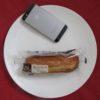 ローソンのコンビニパン「マチノパン あんことバターのフランスパン」
