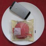 ローソンのコンビニパン「しっとりりんごパン」